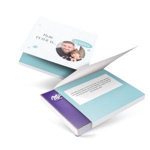 Hét perfecte Cadeau -  Milka giftbox bedrukken – Peter – 110 gram