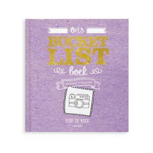 Hét perfecte Cadeau -  Het Bucketlist boek voor opa's met namen en foto's (Hardcover)