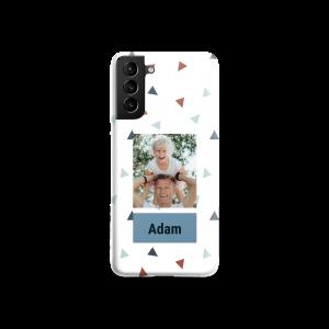 Hét perfecte Cadeau -  Telefoonhoesje bedrukken – Samsung Galaxy S21+ (rondom)