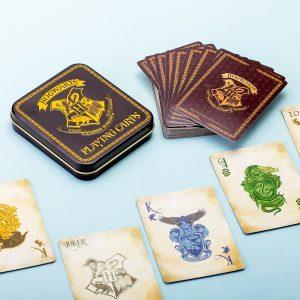 Hét perfecte Cadeau -  Harry Potter Hogwarts Speelkaarten