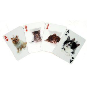 Hét perfecte Cadeau -  3D Speelkaarten – Katten